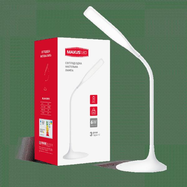 Розумна настільна лампа Maxus DKL 6W