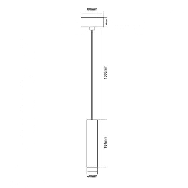 Підвісний світильник Maxus 6W