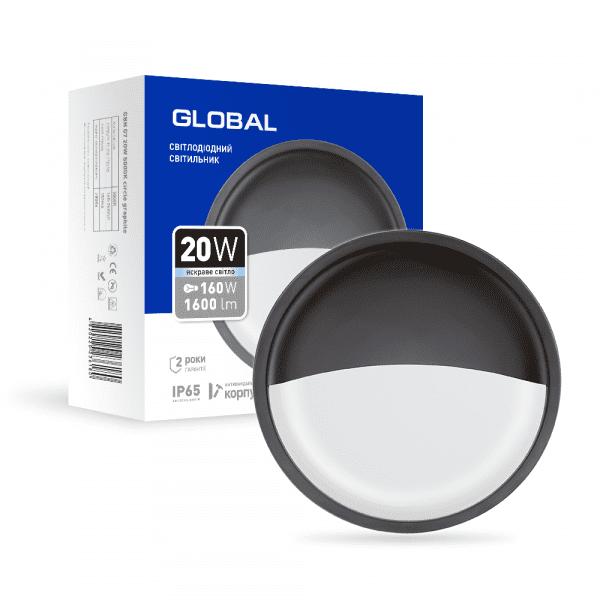 Антивандальний LED-світильник GLOBAL