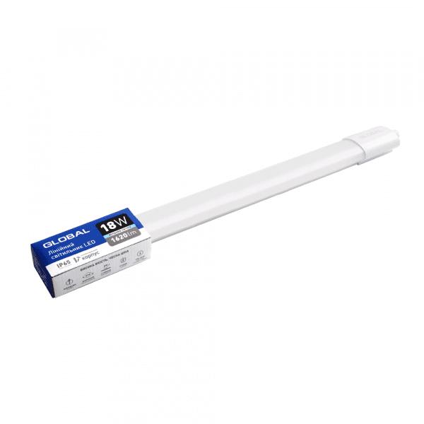 Лінійний світильник GLOBAL Batten Light 18W 5000K IP65