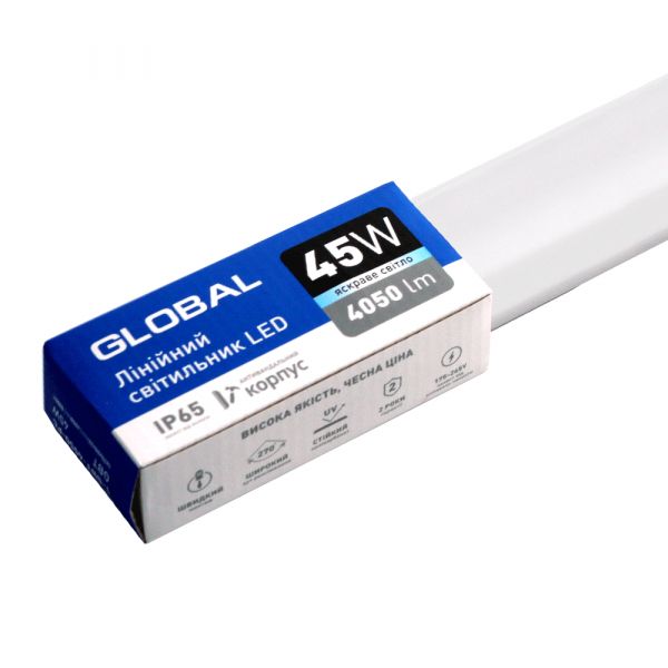 Лінійний світильник GLOBAL Batten Light 45W