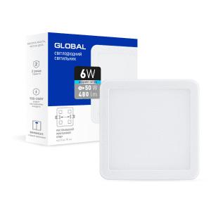 Точковий врізний LED-світильник GLOBAL SP adjustable 6W
