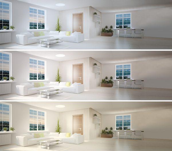 Розумний накладний світильник MAXUS 3-step 24W
