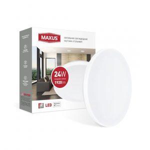 Світильник світлодіодний настінно-стельовий Maxus Ceiling light 24W