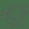 Точковий світильник Maxus 6W