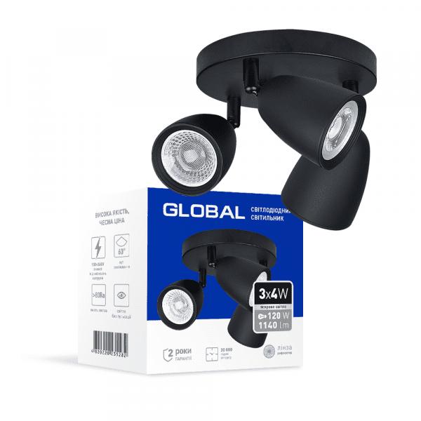 Світильник світлодіодний спотовий GLOBAL