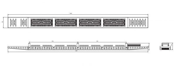 Лінійні світильники COMBEE HIGHLINE