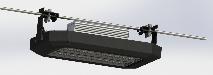 підвісний світильник CRP-1050-90