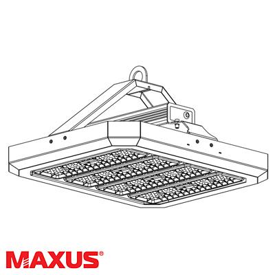 Вуличний підвісний LED світильник Maxus Combee Highspot