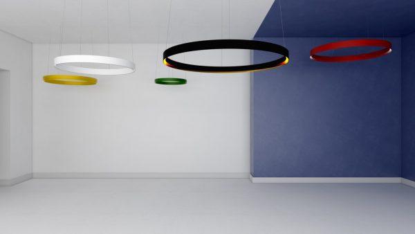 Дизайнерський світлодіодний світильник Circular PR