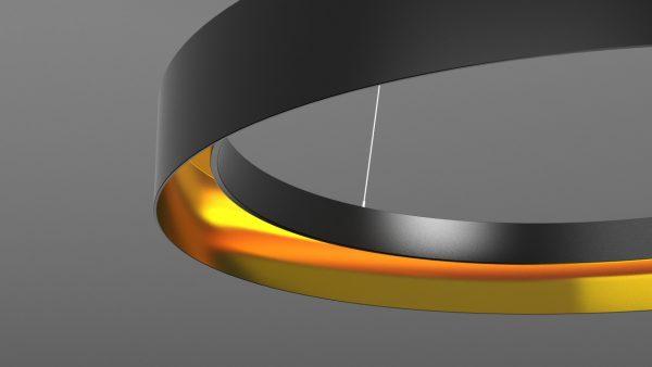 Дизайнерський світлодіодний світильник Circular WPR