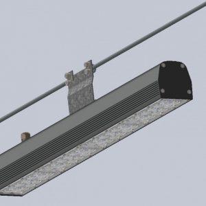 Світлодіодний світильник Indastry 80