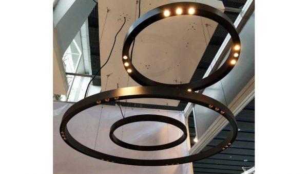 Дизайнерський світлодіодний світильник Circle Lens