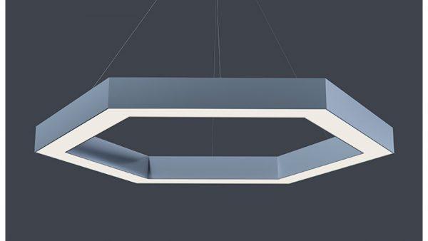 Дизайнерський світлодіодний світильник Hexa