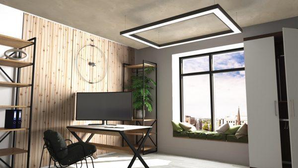 Дизайнерський світлодіодний світильник Kare