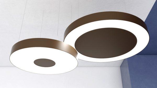Дизайнерський світлодіодний світильник Round CP4