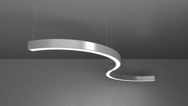 Дизайнерський світлодіодний світильник Crescent