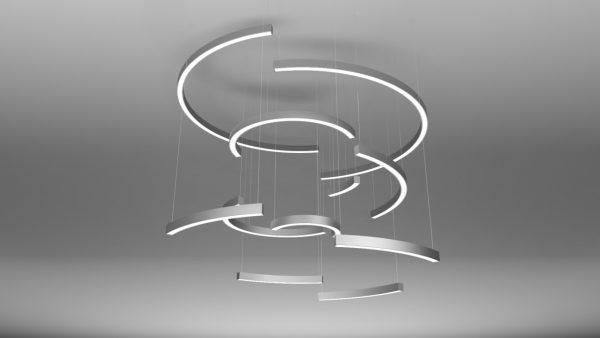 Дизайнерський світлодіодний світильник Crescent 2 Pendant