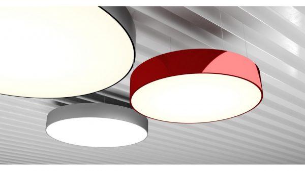 Дизайнерський світлодіодний світильник Round FL