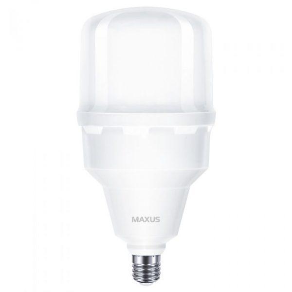 Лампа світлодіодна MAXUS HW 50W 5000K E27/E40