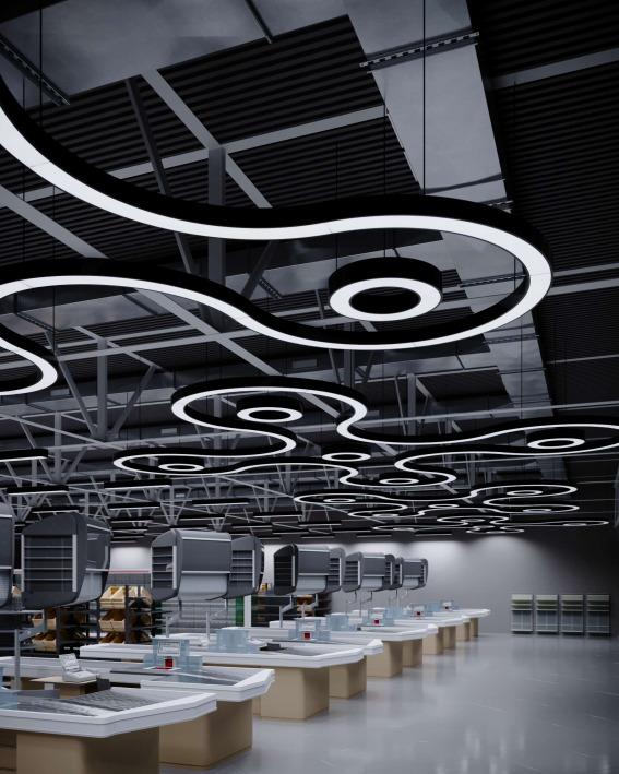 модульні комбінації led-світильників