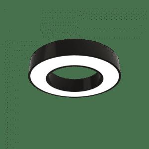 Підвісний дизайнерський LED світильник Кільце широке
