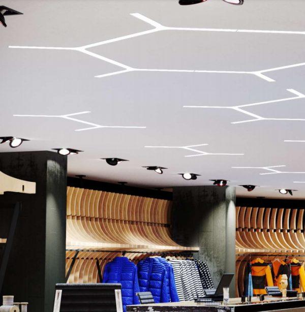 Комбінації модульних LED-світильників Y mini