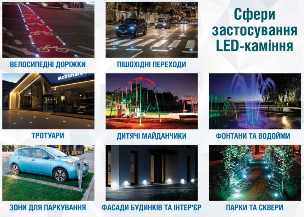 LED каміння в Україні