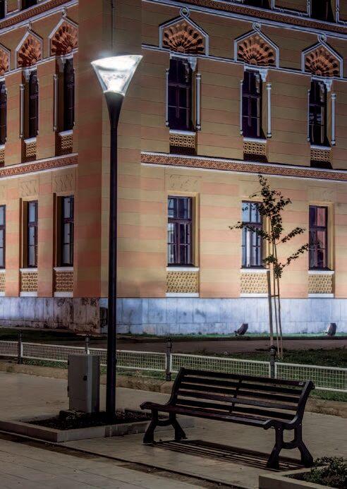 Світлодіодні паркові світильники Schreder Calla