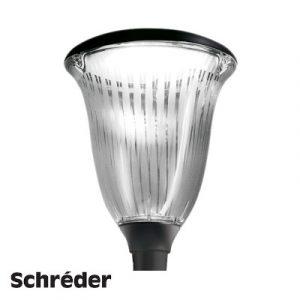 Світлодіодний парковий світильник Schreder Hapiled