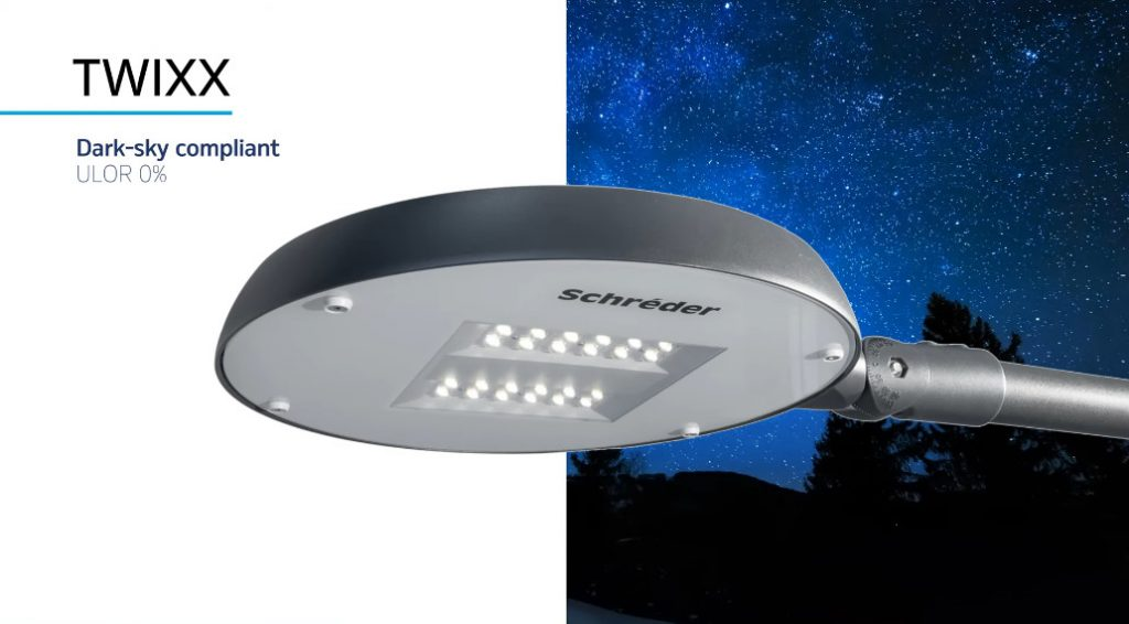 LED-світильник Schreder TWIXX