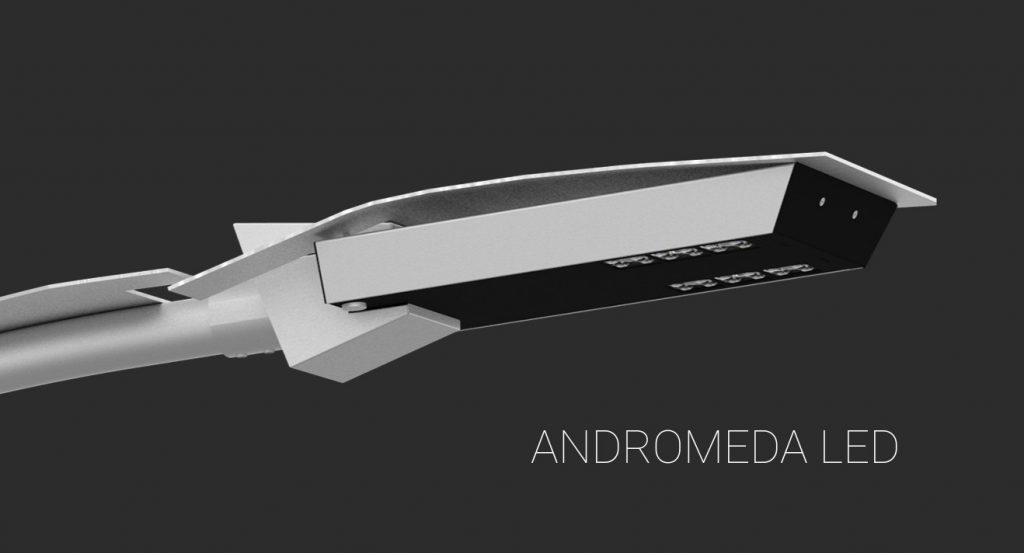 Світлодіодний світильник Rosa ANDROMEDA LED
