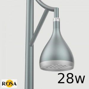 Світлодіодний світильник парковий Rosa DROP LED 28W