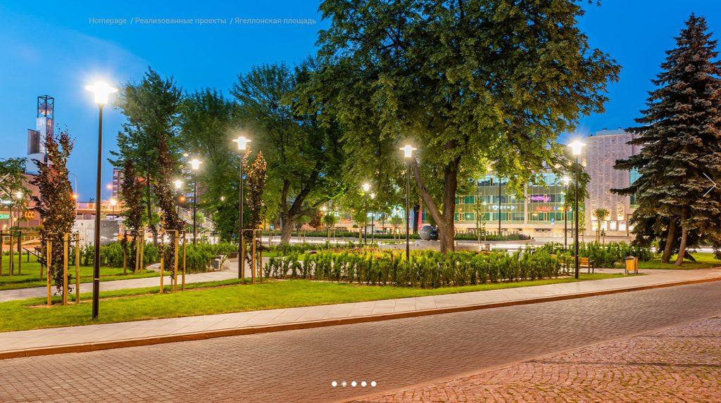 Світлодіодні світильники Rosa ELBA LED