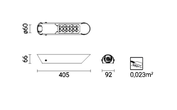 LED світильник ISKRA LED 36 PROG 40W 5000K