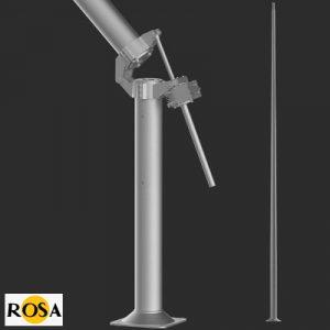 Опора алюмінієва розкладна Rosa SAL-85M/P