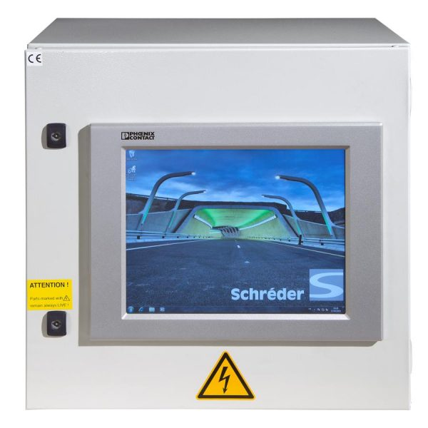 Керування світлодіодним освітленням тунелів Schreder ATS System фото 2