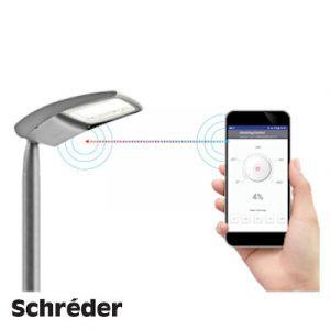 Система керування LED освітленням Schreder Bluetooth Control System
