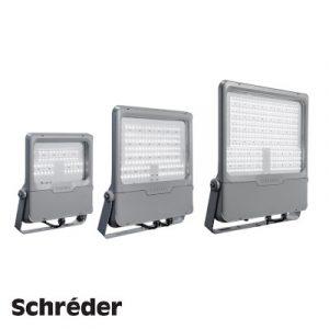 Світлодіодний світильник Schreder INDU FLOOD
