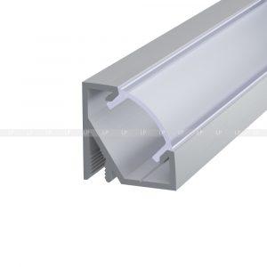 LED-профіль алюмінієвий кутовий ЛПУ