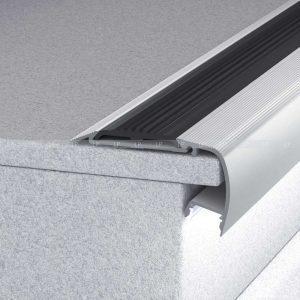 LED профіль сходинковий