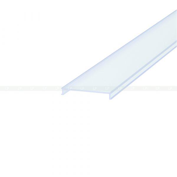 LED профіль алюмінієвий, анодований, срібло (ЛС40)