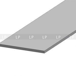 LED профіль алюмінієвий, анодований, срібло (ЛСБ40)