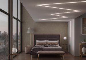 LED профіль алюмінієвий врізний, анодований, срібло (ЛСВ40) фото