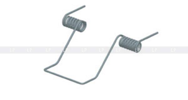 пружина для LED профіль алюмінієвий врізний, анодований, срібло (ЛСВ70)