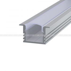 LED-профіль алюмінієвий врізний ЛПВ12