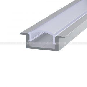 LED-профіль алюмінієвий врізний ЛПВ7