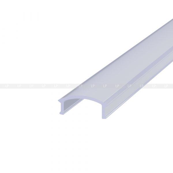 LED-профіль алюмінієвий врізний ЛПВ12 (розсіювач 2)