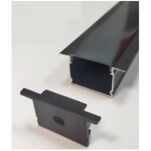 Профіль алюмінієвий LED LPV-20AB анодований