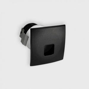 Світильник настінний вбудований IN WALL S чорний